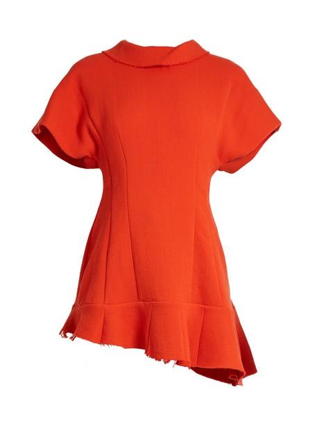 A.W.A.K.E. top wool orange