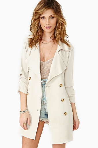 Off The Record Trench - Bone in  What's New at Nasty Gal