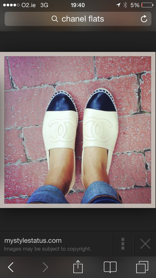 shoes chanel pumps white and black