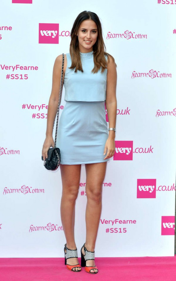 top skirt lucy watson fashion week 2014