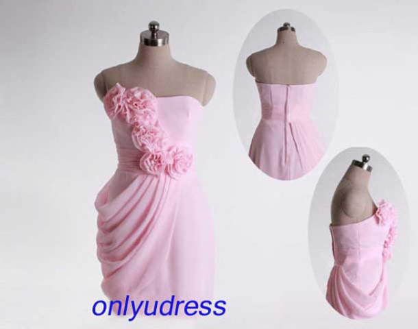 dress pink bridesmaid dresses