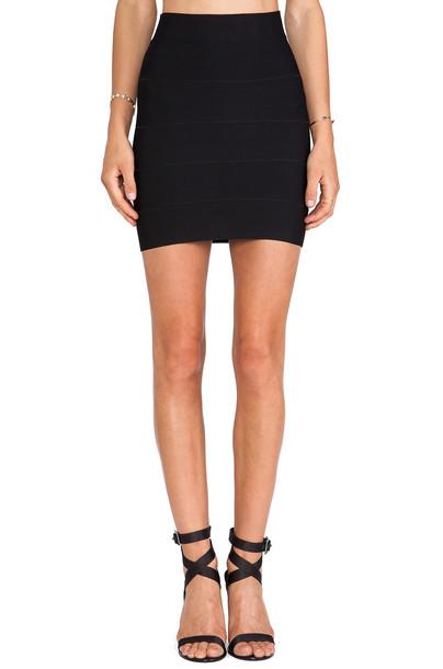 skirt bandage skirt mini bandage black