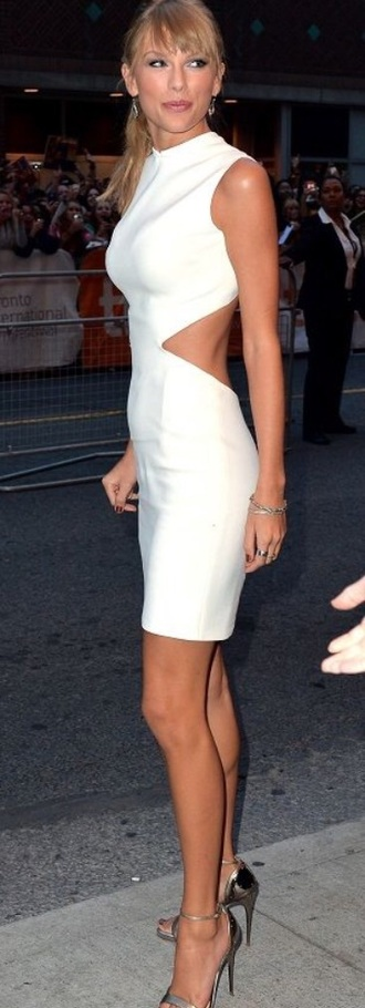 dress white taylor swift