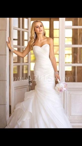 dress wedding dress mermaid prom dress mermaid wedding dresses white dress prom dress long prom dress long dress party dress