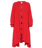 coat,wool coat,wool,red