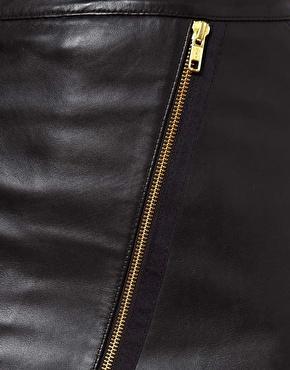 Warehouse | Warehouse Biker Skirt at ASOS