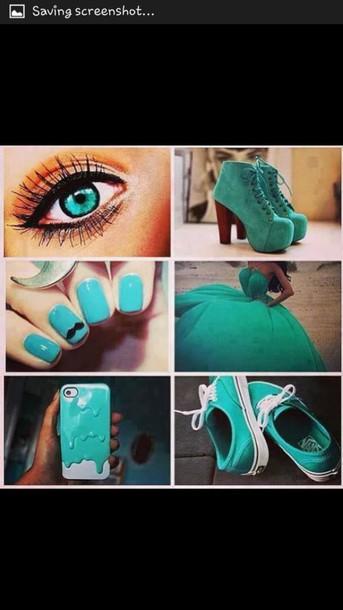 nail polish shoes dress