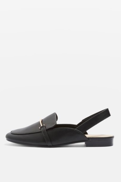 Topshop loafers black shoes