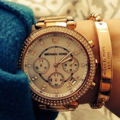 jewels,mk',michael kors watch,time,watch,gold watch