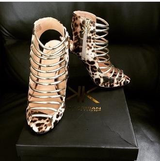 shoes leopard print high heels cute high heels kardashians keeping up with the kardashians fashion style animal print