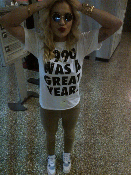 quote on it t-shirt rita ora
