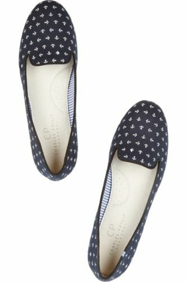 shoes anchor anchor loafers