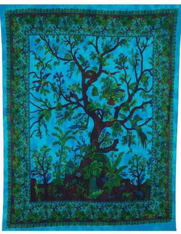 home accessory walltapestry indiantapestry treeoflifetapestry blessestore