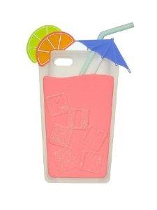 Amazon.com: victoria's secret pink unique fruit drink soft iphone® 5/5s case   bonus vs decal: cell phones & accessories
