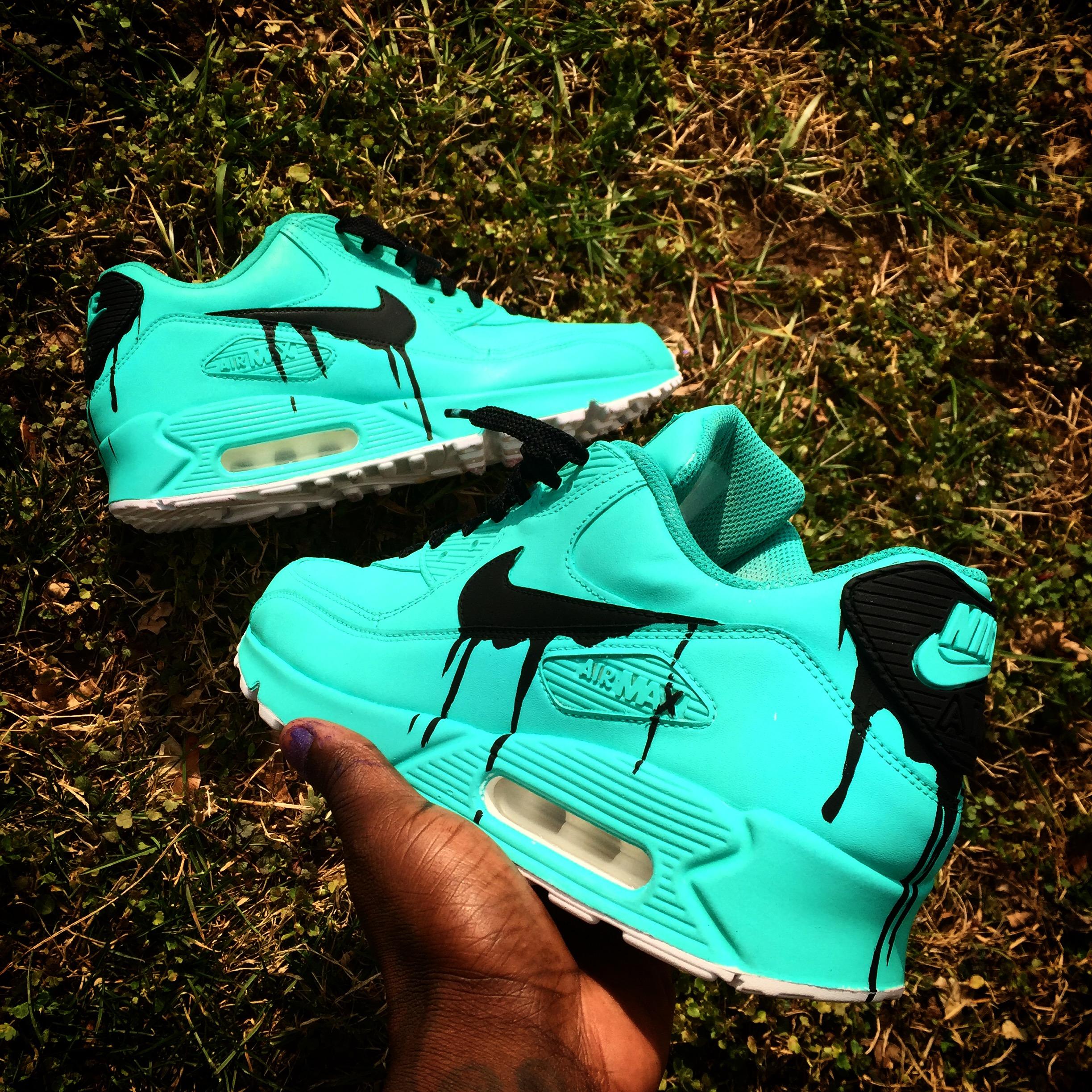 Candy Drip Nike Air Max 90 Customs
