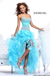 dress,shoes,prom shoes,jewelry,high heels,platform shoes,glitter,black heels,prom dress,blue dress,high-low dresses,party dress,prom gown 2015