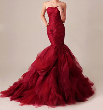 dress good red dress red long red dress beautiful red dress mermaid prom dress party dress evening dress homecoming homecoming dress bodycon dress skirt