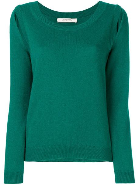 Dorothee Schumacher sweater knitted sweater women green
