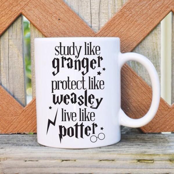 home accessory mug harry potter coffee