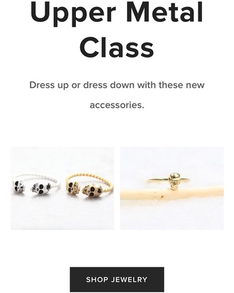 jewels creepy little closet cristina giraldo dainty jewelry dainty rings skull ring