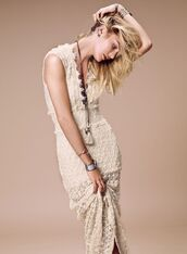 dress,candice swanepoel,lace dress