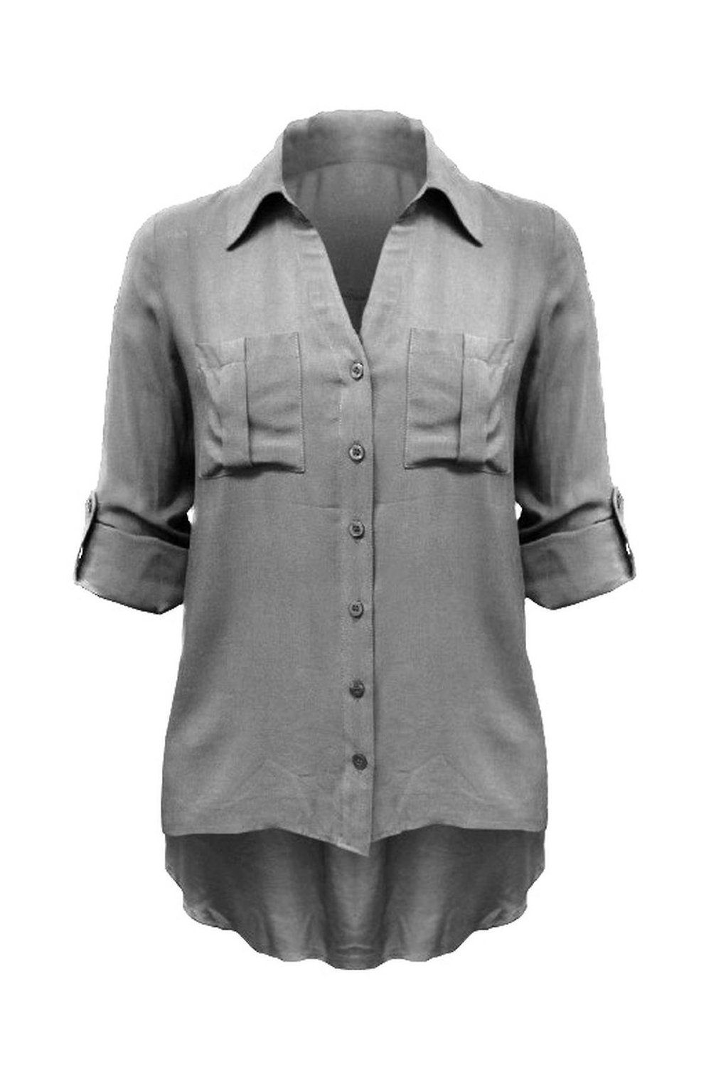 G2 chic women's utilitarian buttoned pocket blouse at amazon women's clothing store: