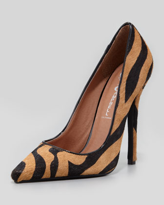 Jeffrey Campbell | Darling Zebra-Print Calf Hair Pump (Stylist Pick & Blogger Pick!) - CUSP
