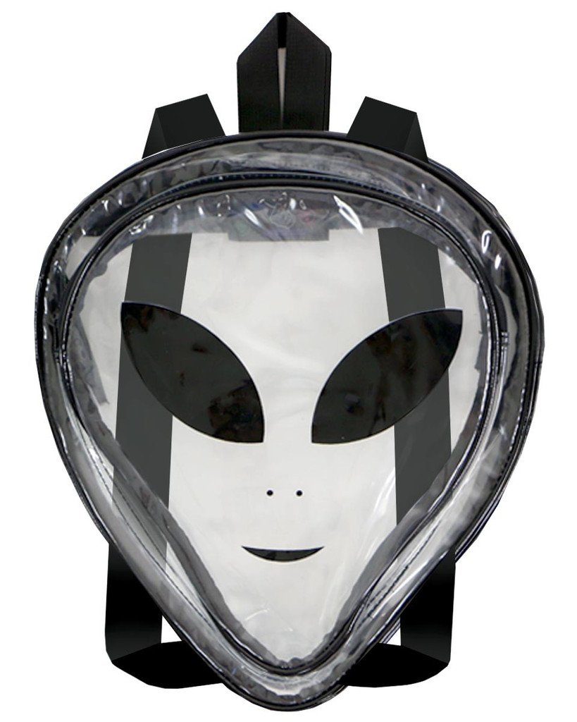 Mighty clear alien backpack at shop jeen