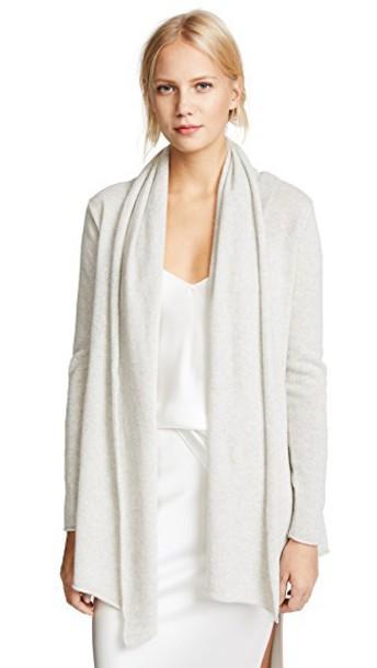 Club Monaco cardigan cardigan grey heather grey sweater