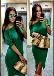 dress,green dress,long sleeves,pencil dress,sexy,casual,casual dress,green winter dress,party dress,stylish,celebrity style,slit dress,knee lemidi dress,long sleeve dress,sexy party dresses,sexy dress,loose,loose dress,fashion toats,fashion vibe,tumblr,tumblr dress,tumblr outfit,cute,date dress,clubwear,club dress,musthave,preppy,must-have,must have dress,fashionista,preppy fashionist,new year party dress,o neck,girly,girly wishlist,moraki,green,women,office outfits,winter dress,style scrapbook,short long sleeved dress,front slit,fashion is a playground,lovely dress,date outfit,knee length dress,off the shoulder dress
