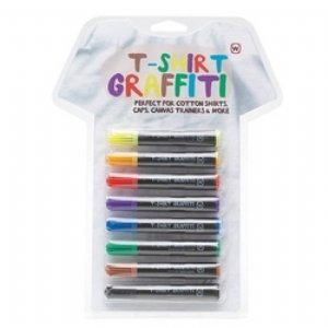 8 permanent fabric markers: amazon.co.uk: toys & games