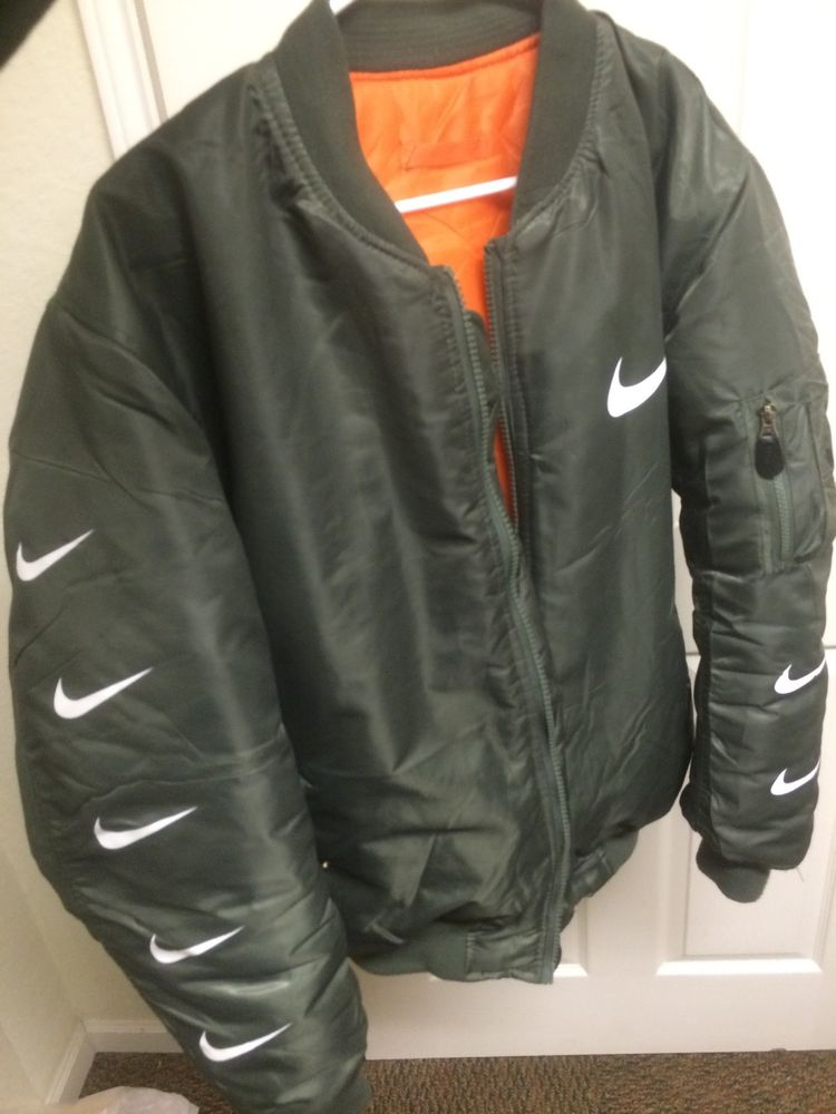 Nike Air Max Men&39s Large Bomber Jacket Supreme Original