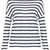 Linen Stripe Long Sleeve Tee - Topshop