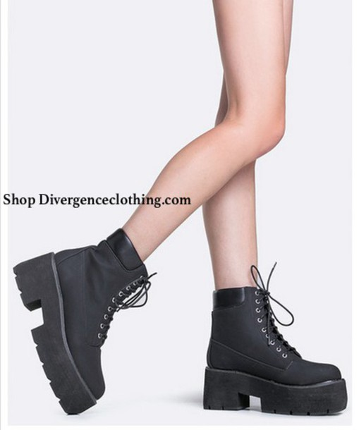 Platform lace up heels tumblr
