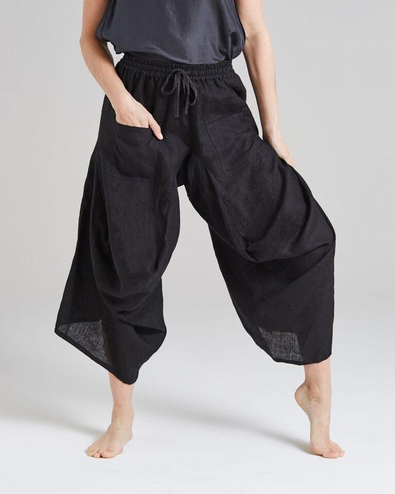 linen 'balloon' pants