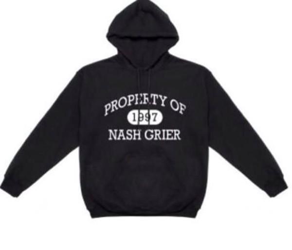 nash grier black white property jacket nashgrier.com hoodie sweater