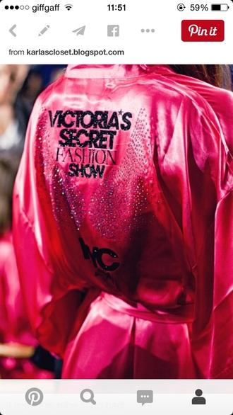 pajamas victoria's secret fashion show
