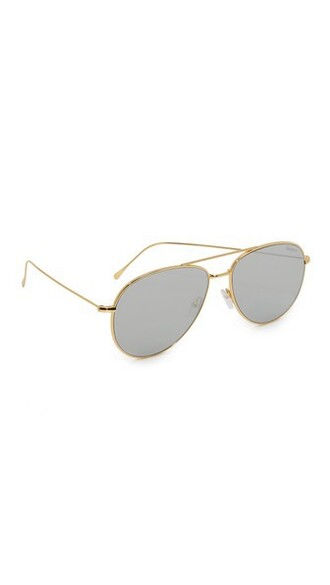 sunglasses gold silver