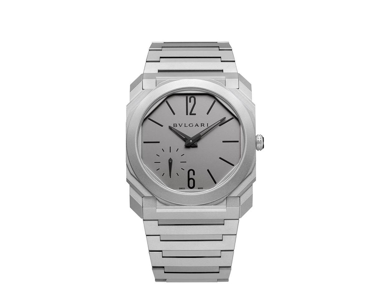BVLGARI Octo Finissimo Watch Titanium
