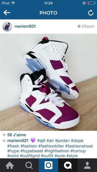 shoes air jordan 6 jordan js js 6 bordeaux white sneakers sneakers addict addict to shoes baskets chaussures blue air jordan bordeaux red shoes addict