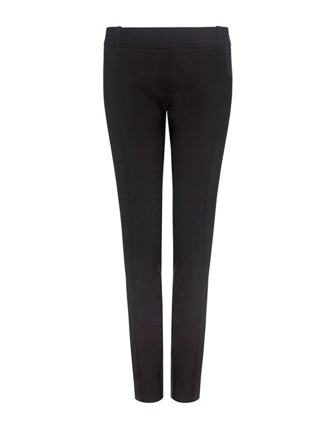 pants cropped pants cropped zip black wool