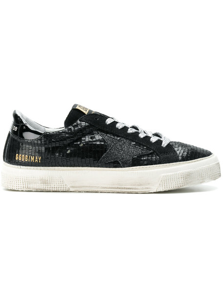 GOLDEN GOOSE DELUXE BRAND women sneakers leather black shoes