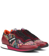 sneakers,leather,red,shoes