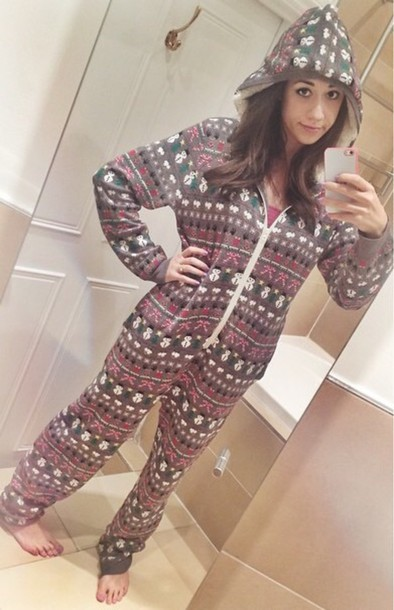 pajamas colleen ballinger onesie jumpsuit pattern