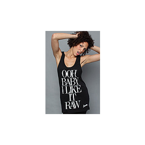 Darkhorse The Raw Oversize Tank, Tops (Sleeveless) for Women - Polyvore
