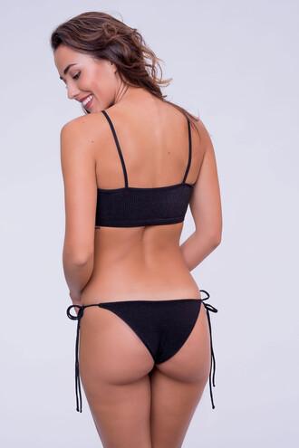 swimwear bikini bottoms black cheeky dbrie swim bikiniluxe
