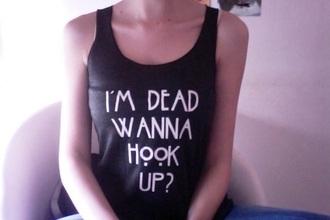 shirt ahs american horror story t shirt black t-shirt