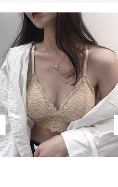 underwear girly girl girly wishlist nude lace lace bralette lace lingerie bralette