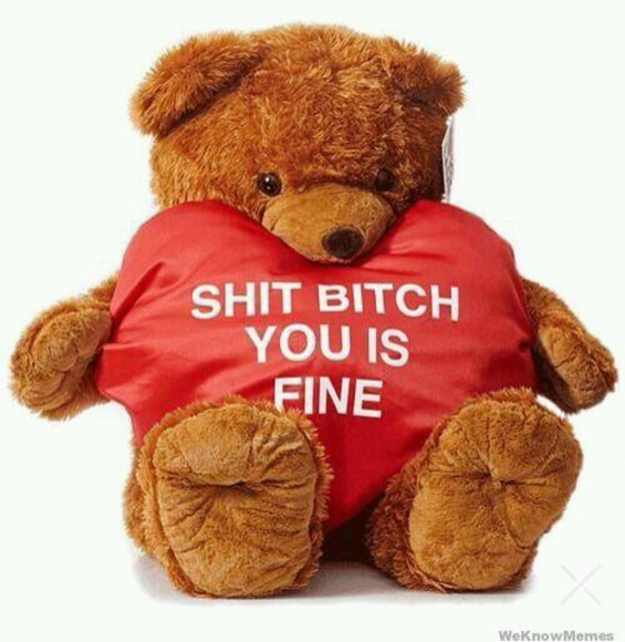 gift cute bag teddy bear valentines day couples shirts not a bag funny
