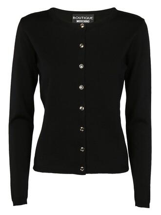 cardigan classic black sweater